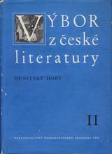 FOTO: Výbor z české literatury doby husitské, sv. 2