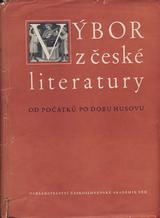 FOTO: Výbor z české literatury od počátků po dobu Husovu