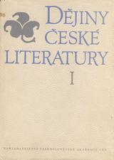 FOTO: Dějiny české literatury 1