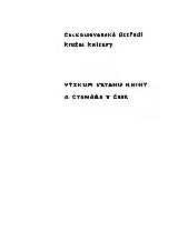 FOTO: Výzkum vztahu knihy a čtenáře v ČSSR