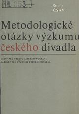 FOTO: Metodologické otázky výzkumu českého divadla