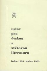 FOTO: Ústav pro českou a světovou literaturu 90–93